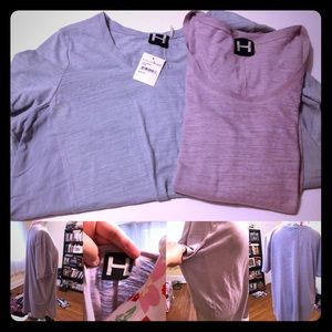 Set of 2! H by Bordeaux Tee Shirts